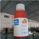 Inflatable Replica Bottle for Advertising