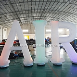 Inflatable Letters with LED Light
