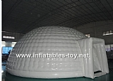 White Inflatable Domes Airtight Tent